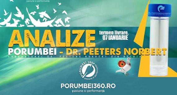Analize laborator Dr. PEETERS - Belgia