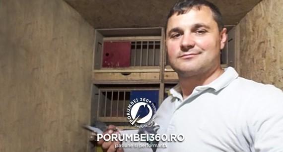 Columbofilul Vasile Rusu, locul 1 Fond Bialystok (Polonia) - 21363 porumbei lansați