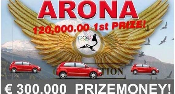 Columbodrom Arona - Tenerife - colectare 29-31 august
