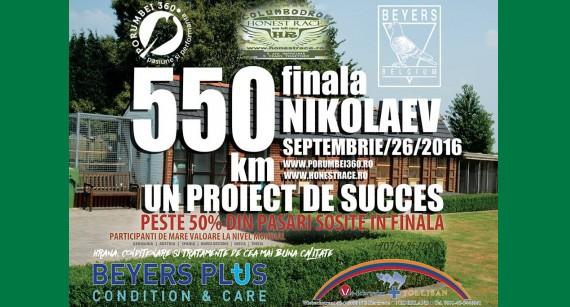 FINALA NIKOLAEV – 550km – sositi peste 50%