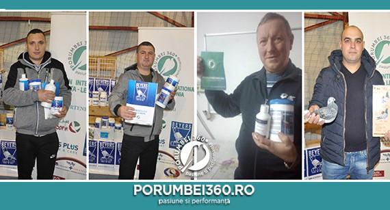 Porumbei360 a premiat câștigătorii etapei derby Malta 2019