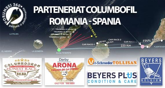 porumbei360.ro - Honest Race OLR - Derby Arona Tenerife