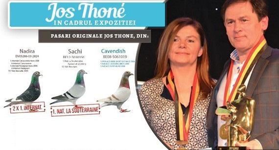 Jos THONE - 4x Campion Mondial