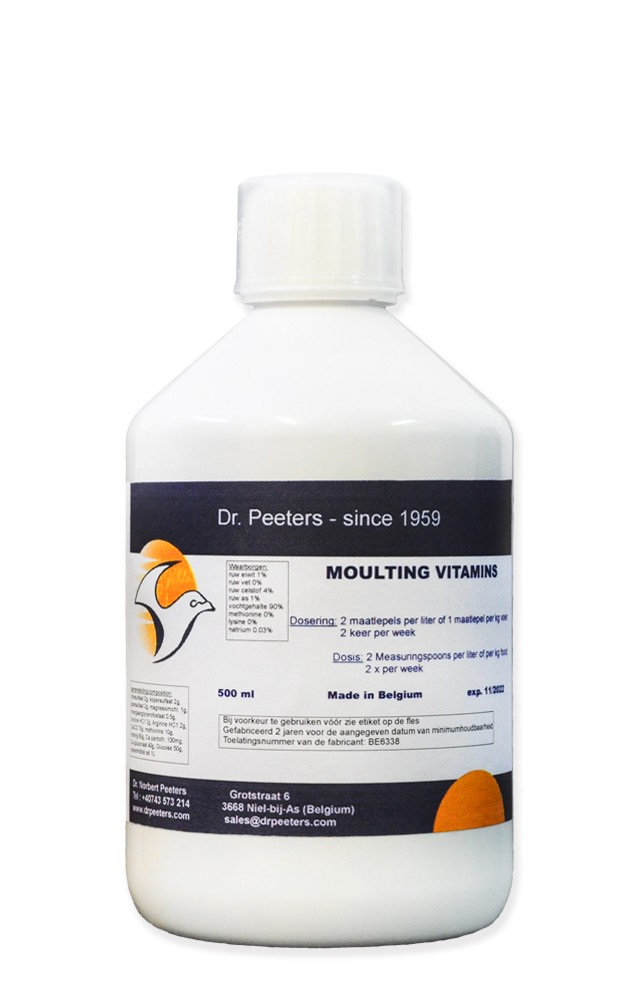 Moulting Vitamins 500ml